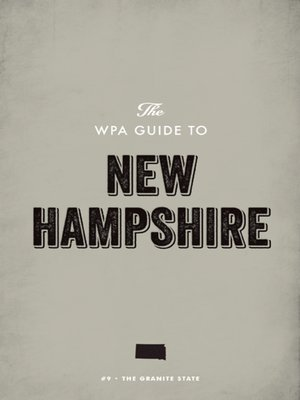 cover image of The WPA Guide to New Hampshire